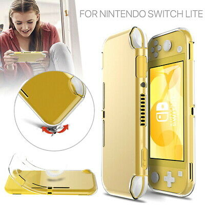 AU7.39 • Buy For Nintendo Switch Lite Protective Case Cover Clear Soft TPU Tempered Glass
