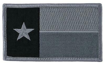 $5.99 • Buy Texas Tx State Flag Army Military  Patch Hook Loop  Subdued Grey Magpul Sticker