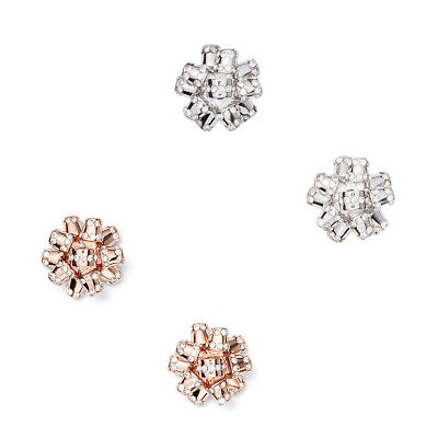$ CDN37.54 • Buy Kate Spade New York Silver Or Rose Gold Bourgeois Bow Pave Stud Earrings