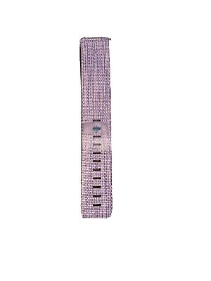 $ CDN28.14 • Buy Fitbit Versa FB505 Special Edition HR Lavender Woven Band Large Purple Band