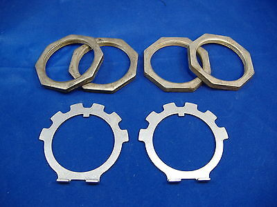 $51.85 • Buy M35a2 2.5 Ton Wheel Hub Nut And Lock Washer Kit Spindle Rockwell M35 Military