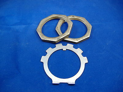 $25.90 • Buy M35a2 2.5 Ton Wheel Hub Nuts And Lock Washer Kit M35 Rockwell M35 Military