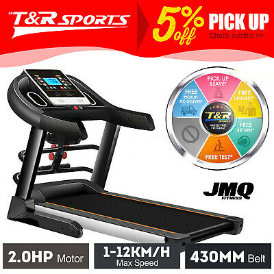 AU699.99 • Buy JMQ Fitness T600 Electric Treadmill W/ Multi-functional Accessories Home Gym