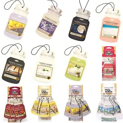 YANKEE CANDLE CAR JAR Air Freshener Variety 3 Pack BUY ANY 2+ PACKS SAVE 20% • 6.99£