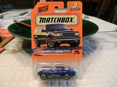 $1.99 • Buy Corvette Grand Sport  #3 Matchbox Dark Blue 1997