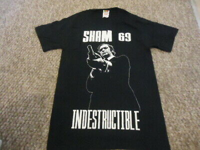 Brand New Sham69 Indestructible,michael Caine Get Carter Style Small T Shirt  • 14.99£