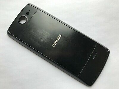 $29.99 • Buy Used Genuine Original Philips Xenium X5500 Battery Back Cover Black Color Fitted
