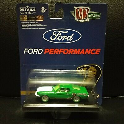 $ CDN44.99 • Buy 1/64 M2 Auto Drivers R65 Green Tire Chase '68 Ford Mustang Cobra One Of 750 !