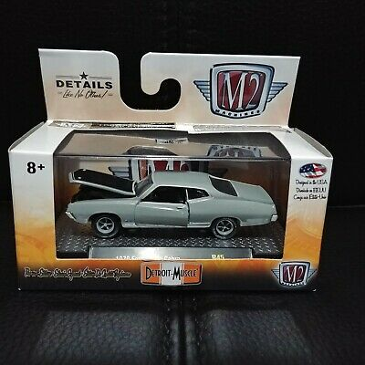 $ CDN39.99 • Buy 1/64 M2 Detroit Muscle Gold Chase 1970 Ford Torino Cobra One Of 750!