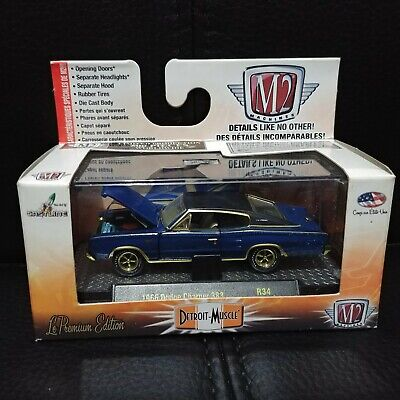 $ CDN44.99 • Buy 1/64 M2 Detroit Muscle R34 Gold Chase 1966 Dodge Charger 383 1 Of 500 !!!!!