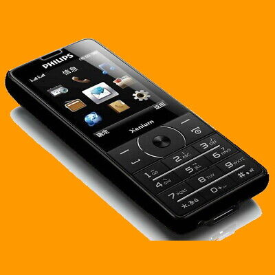 $149.99 • Buy Philips Xenium X1560 Black FM 100 Days Dual SIM Standby GSM 2G Cell Phone X1561