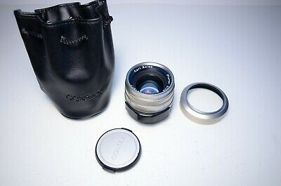 $459 • Buy Carl Zeiss Planar T* 45mm F/2 Lens For Contax G #7591977