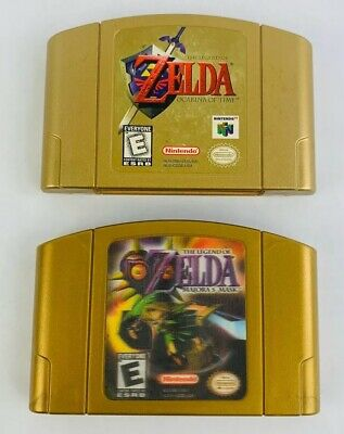 $104.99 • Buy N64 The Legend Of Zelda: Ocarina Of Time + Majora's Mask Collector's Editions
