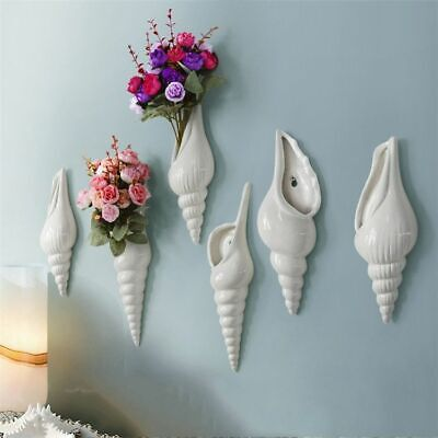Wall Hanging Plants Pots Indoor Home Decorations Ceramic Pottery Flower Planters • 13.63£