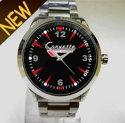 $14.50 • Buy 1963 Chevrolet Corvette Grand Sport Logo Accessories Sport Watch