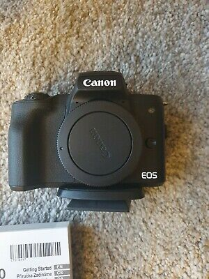 View Details Canon EOS M50 Mirrorless Camera Kit 15-45mm Rode Mic 128gb Memory Card Vlogger • 490.00£