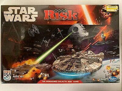 $14.80 • Buy Star Wars RISK GAME Disney Hasbro 2014 Open/ Not Played