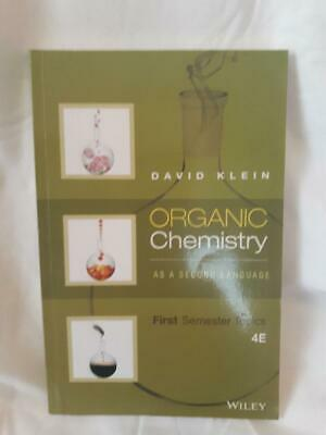 $49.99 • Buy Organic Chemistry As A Second Language : First Semester Topics By David R....