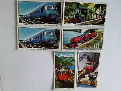 Kelloggs Trade Cards,  Ships Of British Navy,  Story Of The Locomotive • 2£