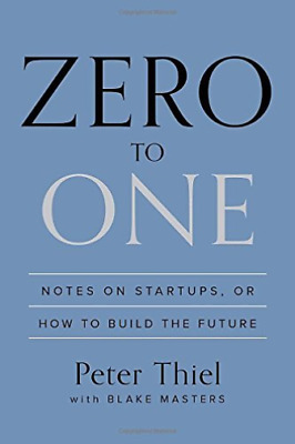AU34.94 • Buy `Thiel, Peter/ Masters, Blake`-Zero To One (US IMPORT) BOOK NEW