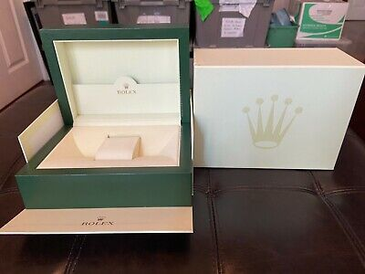 $ CDN260.64 • Buy GENUINE ROLEX LARGE Sport Watch Box Case, Complete Set Outer Box/Sleeve/Cloth
