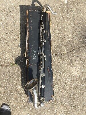 $350 • Buy Bundy Bb Bass Clarinet Recently Serviced With Case