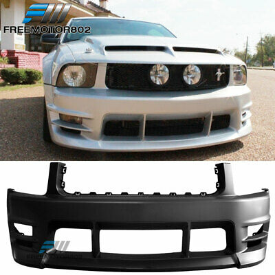 $349.99 • Buy Fits 05-09 Ford Mustang V6 Racer Style Front Bumper Cover Conversion BodyKit