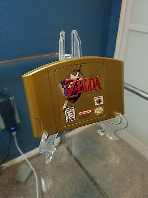 $74.95 • Buy Legend Of Zelda: Ocarina Of Time - Collector's Edition (Nintendo 64) N64 Gold