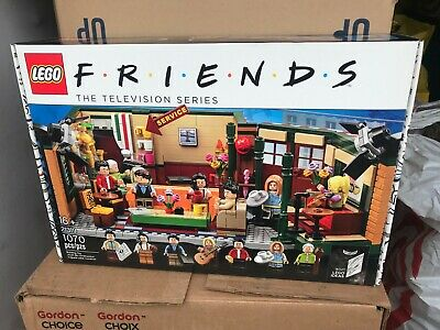 $68 • Buy Lego Ideas Friends Central Perk  21319 Limited New Sealed Free Shipping