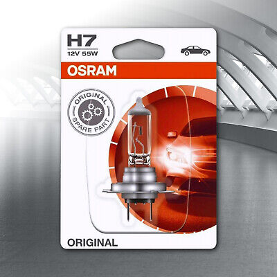 AU49.90 • Buy Osram H7 12v 55w Oem Headlight Bulb 64210 *pair*