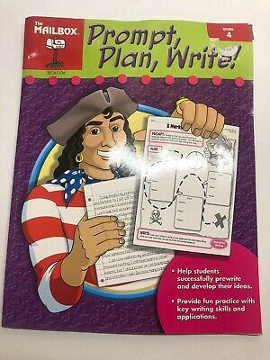$1 • Buy Prompt, Plan, And Write : Grade 4 By The Mailbox Books Staff