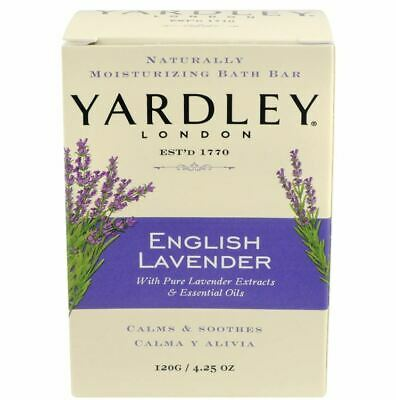 Yardley Lavender Soap X 3 Bars One Great Price 120g • 9.95£