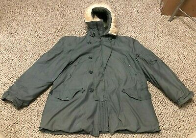 $ CDN107.04 • Buy Greenbrier Industries Parka Extreme Cold Weather Type N-3B US Military Coat XL