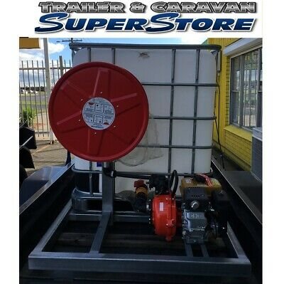 AU880 • Buy 6x4 Fire Fighting Trailer Set Up Removable Galvanised Skid Fire Ready