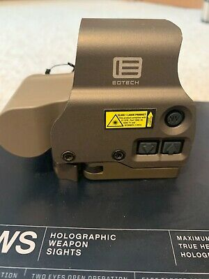 $510 • Buy EOTech | EXPS3-2 | QR Holographic Sight | 68MOA Ring & 2-1MOA Red Dot | Tan