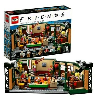 $69.99 • Buy Lego Friends Central Perk Cafe Ideas Set 21319 New Sealed IN HAND US Fast Ship