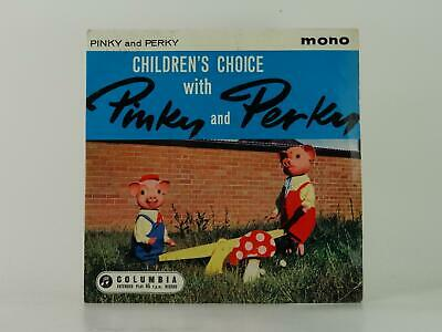 PINKY AND PERKY, CHILDREN'S CHOICE, 64, EX/EX, 6 Track, 7  Single, Picture Sleev • 3.02£