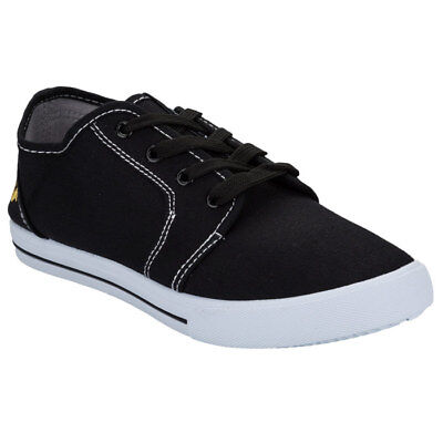 Boys VOI JEANS BRONSON Black Plimsolls / Pumps SIZE UK4 EU37 + Shoe Bag £11.95 • 11.95£