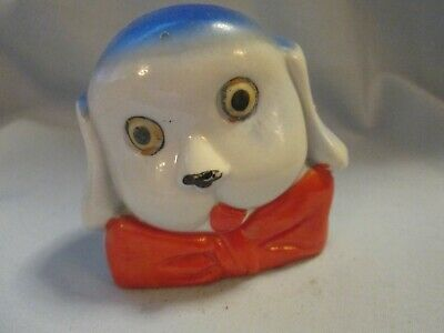 Old Ceramic Big Eyed Comic Dog Bank  • 19.29£