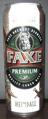 $ CDN5.35 • Buy NEWEST! Beer Can - Faxe Premium - 450 Ml - 2020 - Russia - Norse Gods #2