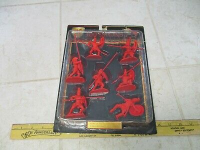 $44.95 • Buy New Conte 300 Spartans 1/32 54mm Plastic Army Men Figures Red Greeks Rare Set #1