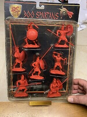 $44.95 • Buy New Conte 300 Spartans 1/32 54mm Plastic Army Men Figures Red Greeks Rare Set #8