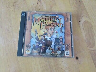 Vintage Escape From Monkey Island Cd-rom Pc Game By Lucasarts 2000 For Windows • 7£
