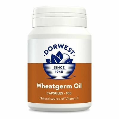 £8.99 • Buy Dorwest Wheatgerm Oil Capsules For Dogs And Cats