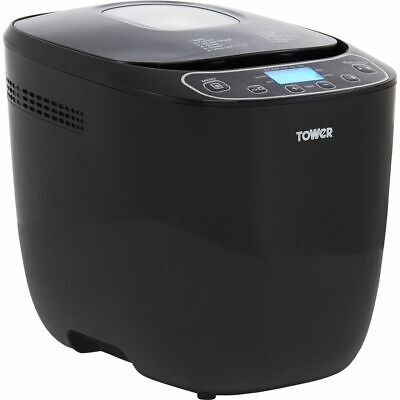 View Details Tower T11003 Bread Maker With 12 Programmes Black • 59.00£