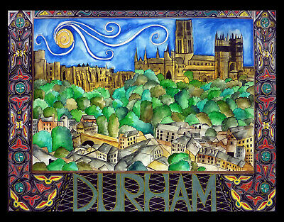 £15 • Buy Durham Castle And Cathedral Limited Edition Print By Sarah Jane Holt