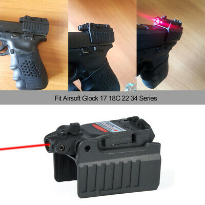 $ CDN25.36 • Buy Tactical Red Dot Laser Sight Scope For Airsoft KWA KSC Glock 17 22 23 25 27 28 4