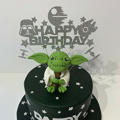 Star Wars Unofficial Themed Glitter Cake Toppers • 5.50£