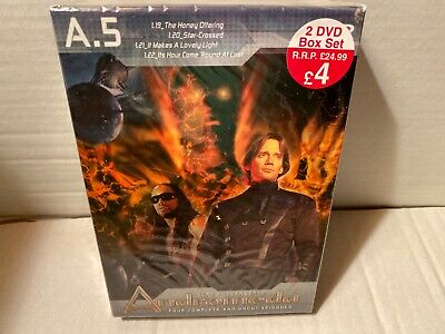 ANDROMEDA A.5 Four Complete Uncut Episodes • 4.95£