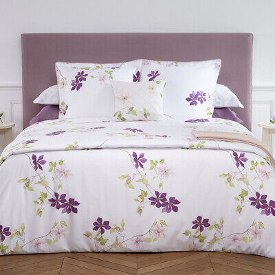 Yves Delorme | Clematis Duvet Cover 300tc Egyptian Cotton 60% Off Rrp • 139.60£